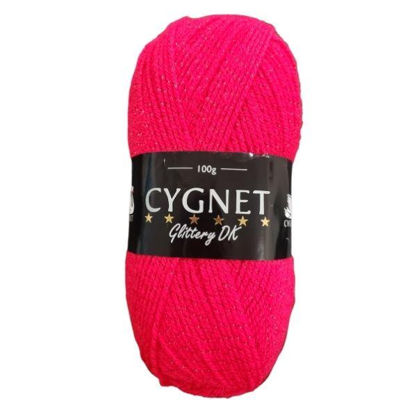 Cygnet glittery dk red