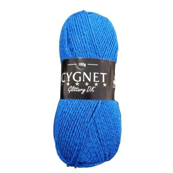 Cygnet glittery DK royal yarn