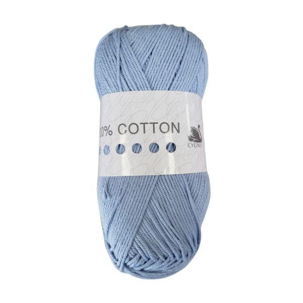 Cygnet 100% Cotton Frosty Blue