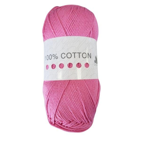Cygnet 100% Cotton Peony Pink