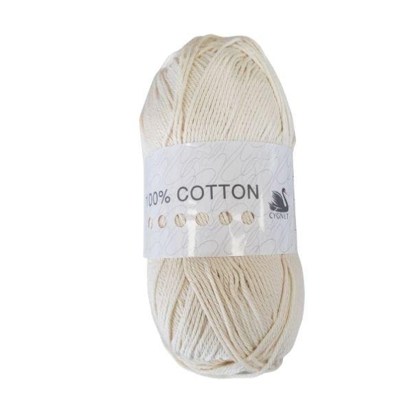 Cygnet 100% Cotton Vanilla Cream