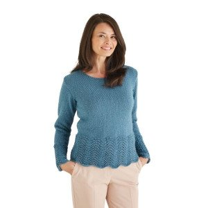 Hayward Bonus Glitter DK patterns are available from Frasers Wool in Sunderland, online or in store - this one is for a sweater/jumper