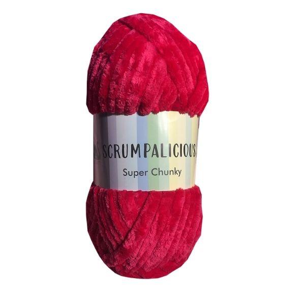 Scrumpalicious Super Chunky by Cygnet Cherry Pink