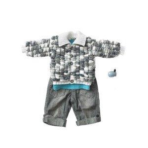 Snuggly Sweetie Jacket Pattern 4909