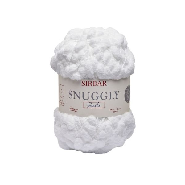 Sirdar Snuggly Sweetie in White